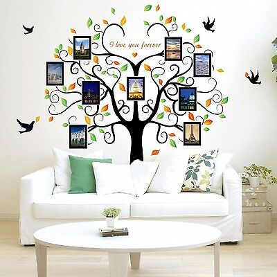 DIY Home Family Decor Tree Bird Removable Decal Room Wall Sticker Vinyl Art NEW