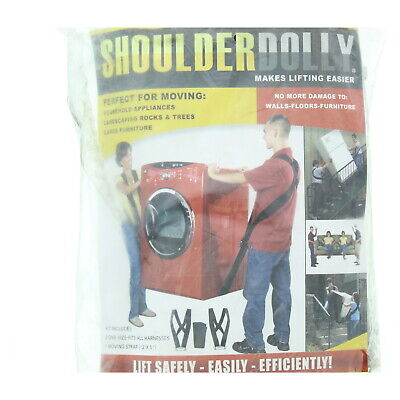 2-person Shoulder Dolly Moving Lifting Carry Straps For Furniture Appliances