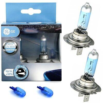 GE Xenon Look Lampen 2x H7 12V 55W PX26d SportLight +50% W5W Blue Halogen Lampen ()