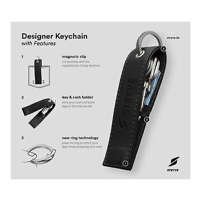 STRYVE Keychain Multifunktionaler Schlüsselanhänger f. Läufer Jogger Running