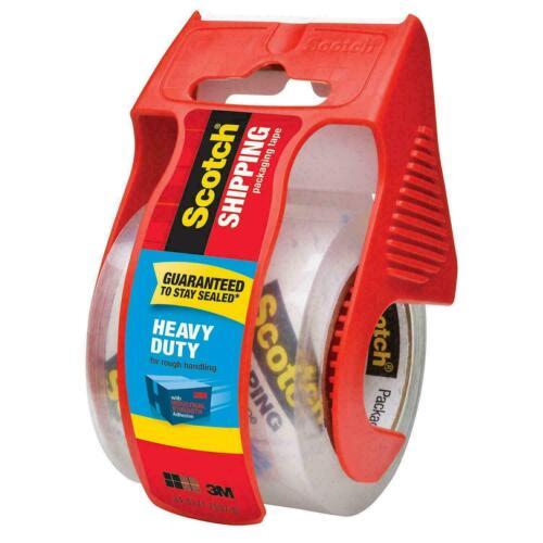 "(1) SCOTCH Heavy Duty Shipping & Packing Tape Dispenser 1.88"" x 800""(22.2 yards)"