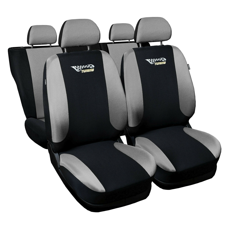 Ford Focus Universal Silber Sitzbezüge Sitzbezug Autositz Schonbezüge Tuning