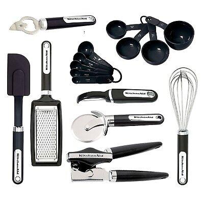 KitchenAid Classic 16PC Gadget & Utensil Set - Black Kitchenaid Gadget