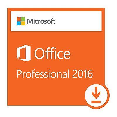Microsoft Office Professional 2016 Lifetime Key Genuine   1 Pcs Install