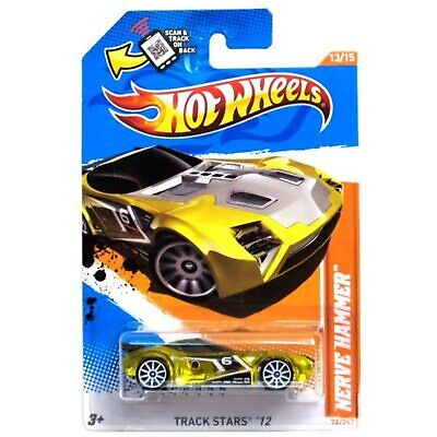 Hot Wheels - Nerve Hammer [Transparent Yellow] - Track Stars '12 - Scale 1:64