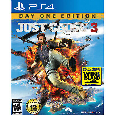 Just Cause 3 PS4 [Factory Refurbished]