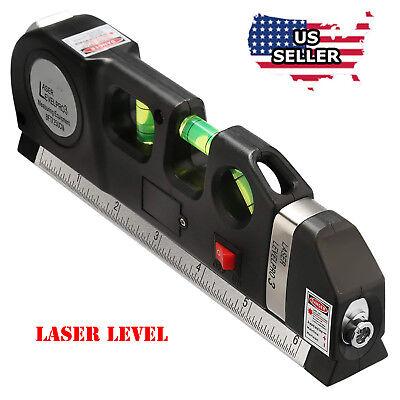- Multipurpose Laser Level Vertical Horizon Measuring Tape Aligner   Metric Rulers