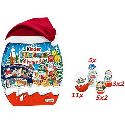 Kinder MIX ADVENT XL 13 in x 16in Calendar 1ct. Christmas 2020 FREE SHIPPING