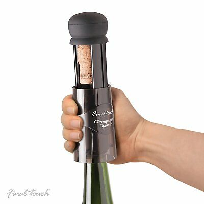 Champagne Sparkling Wine Bottle Cork Opener Remover Drinks Bar Party Accessory