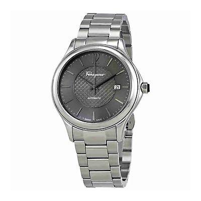 Ferragamo FFT050016 Men's TIME Silver-Tone Automatic Watch