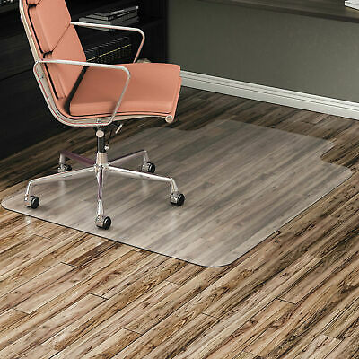 Office Chair Mat 36x48 Lip Or Tab No-studs For Wood Tile Low-carpet Floors