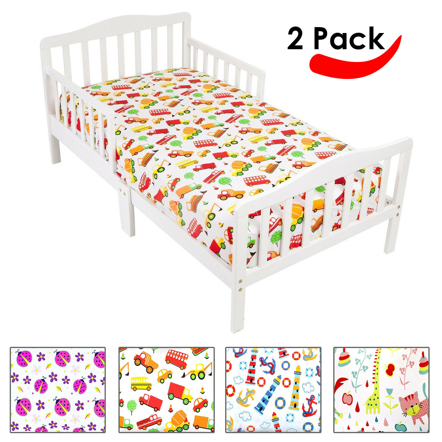 fitted sheets for kids boys girls twin