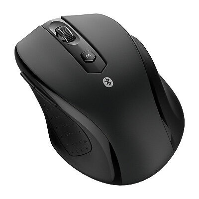 JETech® 0884 Wireless Bluetooth Mouse Optical Mice for PC Mac Android OS Tablet