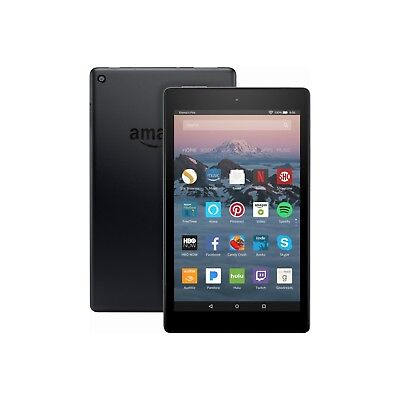 Amazon Fire HD 8 Tablet 32 GB with Alexa 7th Gen 2017 Black with offers