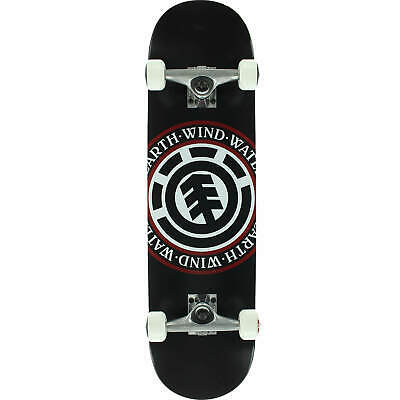 "Element Seal Complete Skateboard - 8.0"" Black"