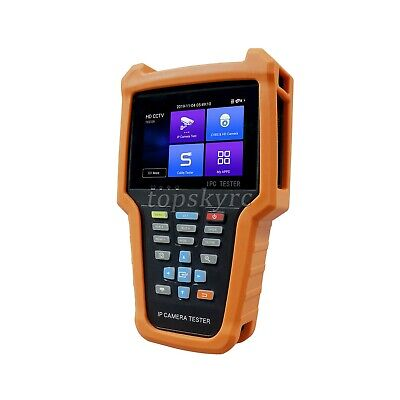 Ip Camera Tester Hd Cctv Tester W 4 Ips Touch Screen 8mp Tvicviahd V6-adh Ts