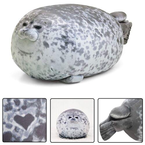 Cute Chubby Blob Ocean Seal Plush Pillow Stuffed Animal Super Soft Toy Doll Gift