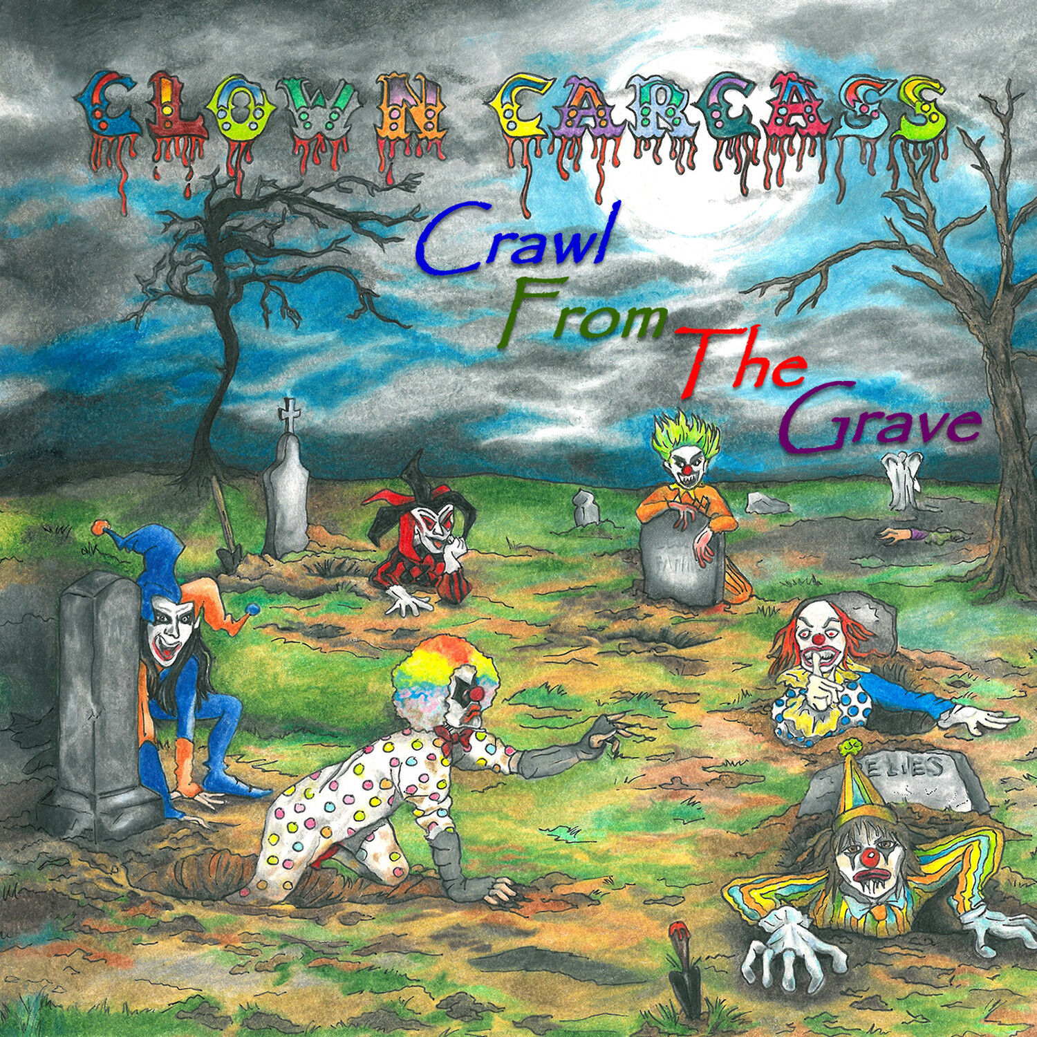 Clown Carcass - Crawl From The Grave CD - Heavy Metal!!! Hard Rock!!!