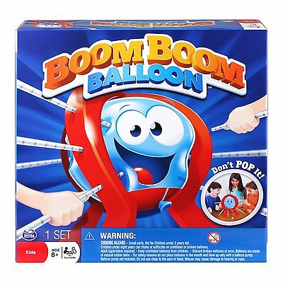 New! Spin Master Games - Boom Boom Balloon Board Game