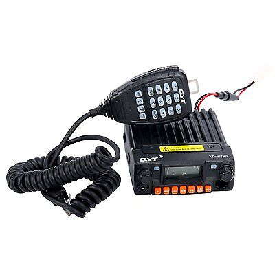 QYT KT-8900R Tri-Band UHF VHF 25W Car&Trunk Ham Mobile Transceiver Two Way Radio