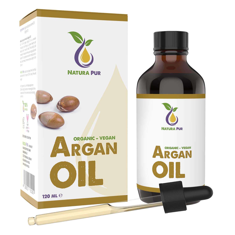 Bio Arganöl 120ml - 100% kaltgepresst Argan Öl aus Marokko Gesicht Haare Haaröl