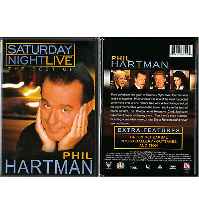 Saturday Night Live Best of Phil Hartman DVD Sketch Comedy SNL TV Show (Best Sketch Comedy Shows)