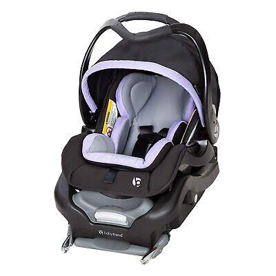 बेबी ट्रेंड सुरक्षित स्नैप टेक 35 सुरक्षित शिशु कार सीट यात्रा प्रणाली, लैवेंडर आइस