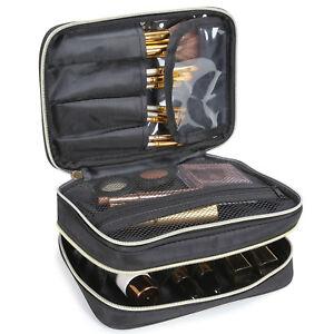 Lifewit Travel Makeup Bag Cosmetic Organizer Portable Brush Holder Storage Case