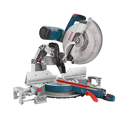 "Bosch Tools GCM12SD 12"" Dual-Bevel Glide Miter Saw New"
