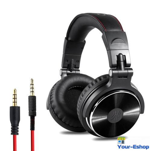Headphones - Professional Over-Ear Studio Monitor Mixing Headphones Headset Neodymium Driver