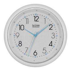 BBB87283 La Crosse Clock Company 10 Analog Night Vision Wall Clock