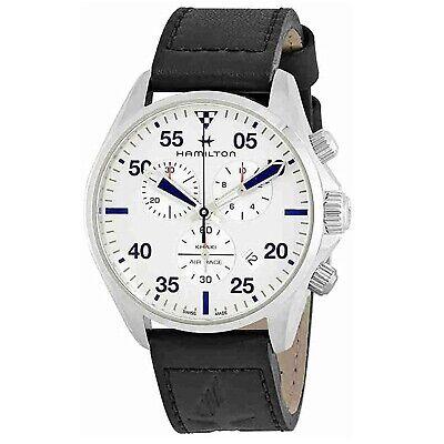 Hamilton H76712751 Men's Khaki Pilot Silver Quartz Watch