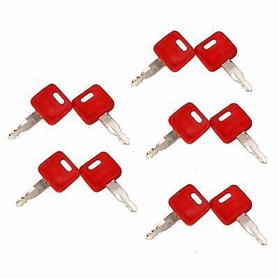10 John Deere Hitachi H800 Excavator Keys - Fit Case Dozer - Fiat -new Holland