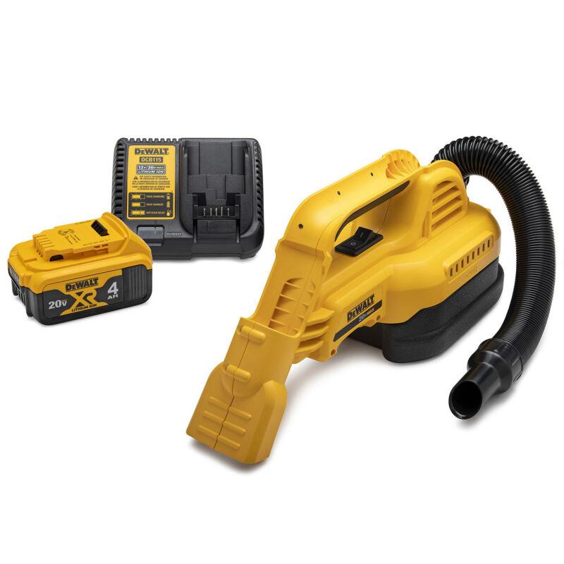 DeWalt 20V MAX 1/2 Gallon Wet and Dry Portable Vacuum Kit