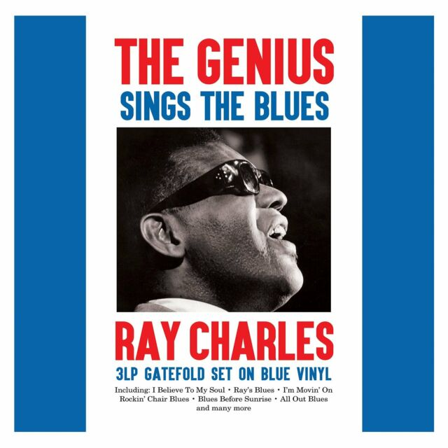 Ray Charles - The Genius Sings The Blues (3LP Gatefold Blue 180g Vinyl) NEW/SEAL