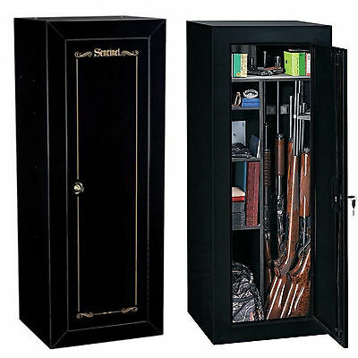 Lookout Security 18 Gun Cabinet Safe Rifle Shotgun Firearms Storage Locker NEW