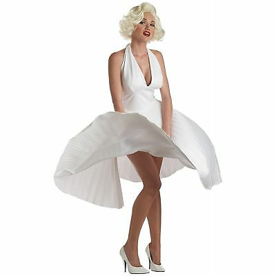 Sexy Deluxe Marilyn Monroe Halloween Halter Top Costume Small