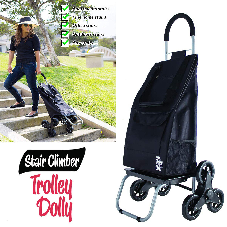 Stair Climbing Hand Truck Trolley Dolly Wheels Climber Foldi