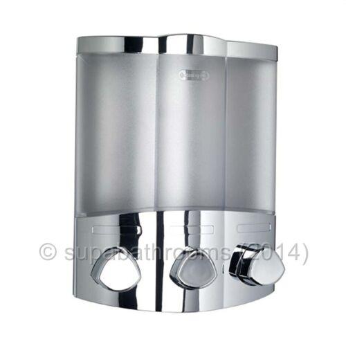 Croydex Euro Trio Chrome Wall Mounted Triple Soap Dispenser Ebay
