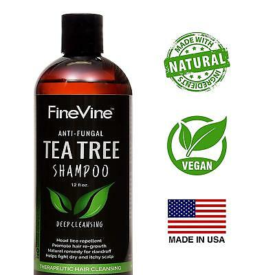 Best Tea Tree Oil Shampoo - Made in USA - for Men, Women and Kids - (Best Tea Tree Oil Shampoos)