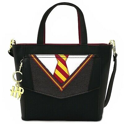 LOUNGEFLY X HARRY POTTER COSPLAY SUIT AND TIE CROSSBODY BAG - NEW!