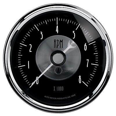 AutoMeter 2096 Prestige Series Black Diamond Electric Tachometer