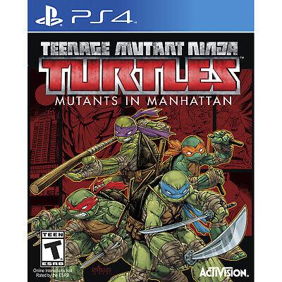 Teenage Mutant Ninja Turtles: Mutants in Manhattan PS4 [Brand New]