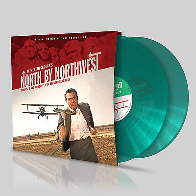 North By Northwest OST green vinyl - Bernard Herrmann