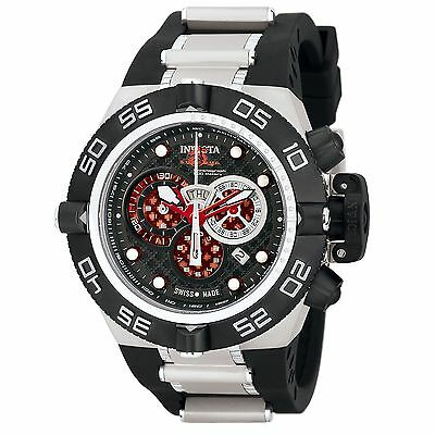 Swiss Made Invicta 6569 Subaqua Noma IV Chronograph Watch with 3-Slot Dive Case