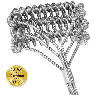Safe/Clean Grill Brush Bristle Free Barbecue Grill Brush 100% Rust Resistant 18""