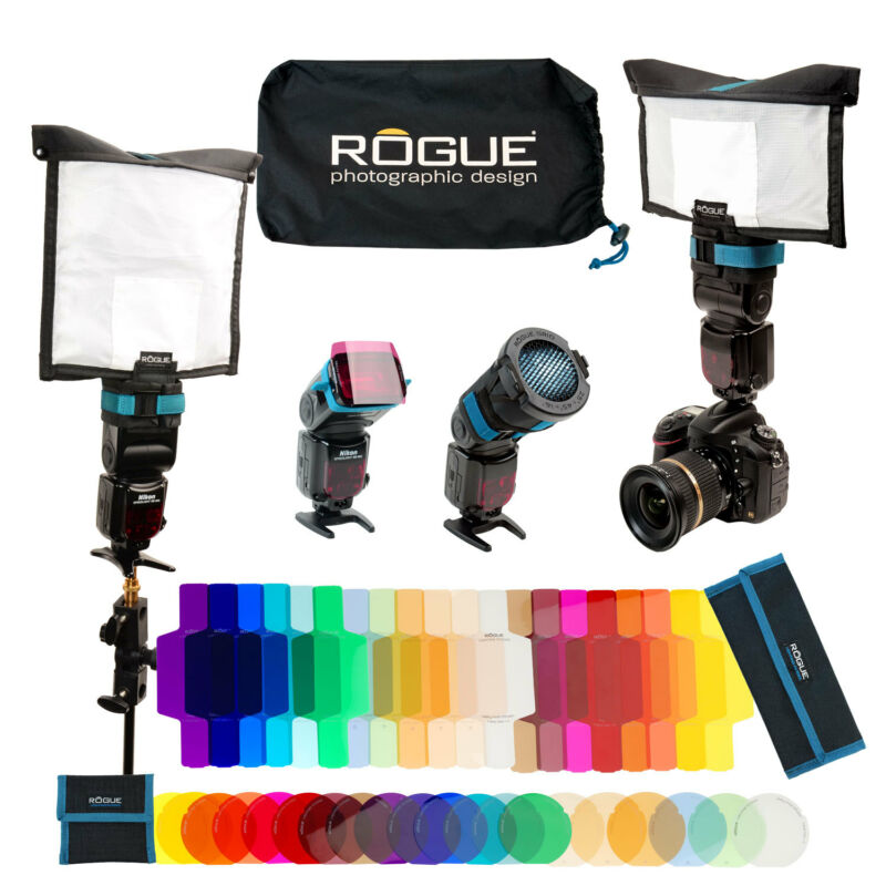 Rogue FlashBender 2 - Portable Lighting Kit + FREE Frank Doorhof Training CD-Rom