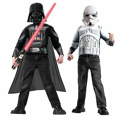 Star Wars Storm trooper & Darth Vader Costume Box Set - Star Wars Disney - New Darth Vader Costume Set