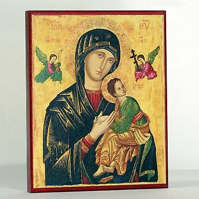 Our Lady of Perpetual Help Virgin Mary Theotokos Icon