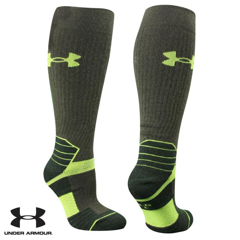 UA Socks: 1-PAIR Sct Ctrl OTC (L) Hrthstone